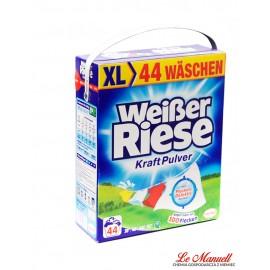 Weißer Riese Kraft Pulver 2.420 kg- 44 prania