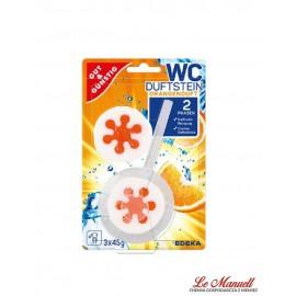 Edeka WC orangenblute
