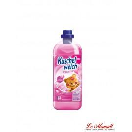 Kuschelweich PINK KISS, płyn do płukania 1l - 31 płukań