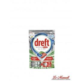 Dreft Platinum Plus, tabletki do zmywarki 57 sztuk.
