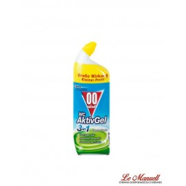 Null null Wc- żel do Toalet 3in1 - Fresh Green 750 ml